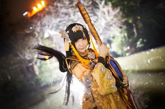 Vẻ đẹp quyến rũ của tiểu nữ hiệp Tàng Kiếm Sơn Trang