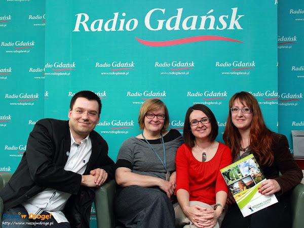 Ruszaj w Drogę i Kochamy Żuławy z Beatą Szewczyk w Radio Gdańsk