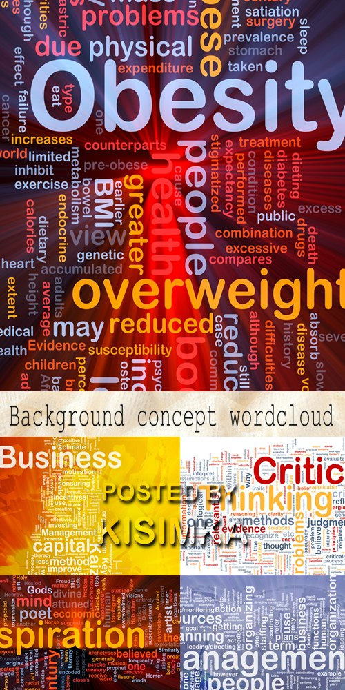 Stock Photo: Background concept wordcloud