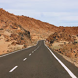 Road to Tiede - Canary Islands, Spain