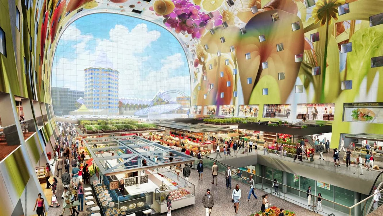 Market Hall by Mvrdv