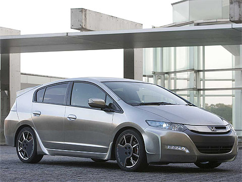 Motor Trend: 2010 HONDA Insight Sports Modulo Concept