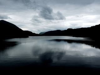 The end of a good days walking ... Thirlmere in a moody moment.
