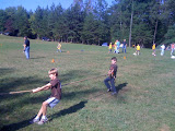 Jack and Lars went to the Boy Scout Cub-O-Ree camp. Jack had a blast!