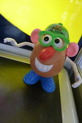 Red Bull Potato из Toy Story на Гран-при Великобритании 2011