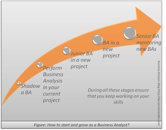 How to start and grow as a Business Analyst, Business Analysis Blog Tarun Chandel
