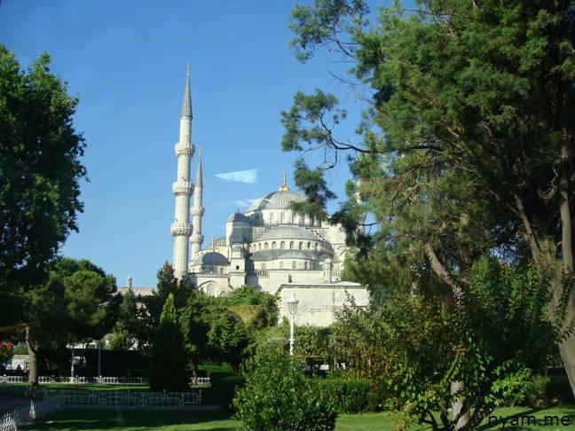 голубая мечеть в стамбуле (1)