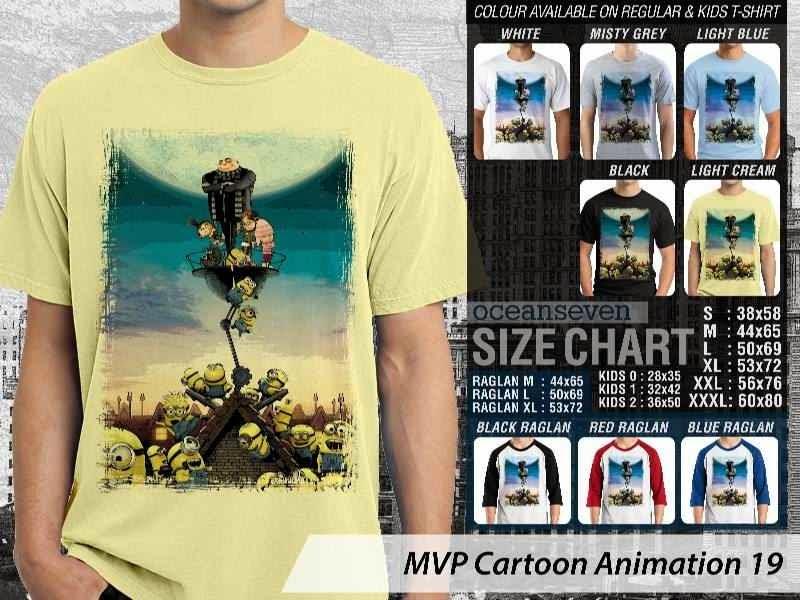 Kaos Kartun Minions Cartoon Animation 19 distro ocean seven
