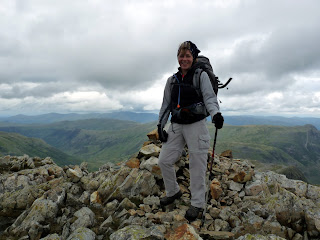 Jo on Esk Pike