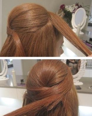 Peinados semirecogidos paso a paso para fiestas