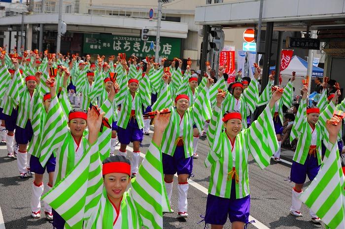 第59回よさこい祭り☆本祭1日目・愛宕競演場12☆上1目316