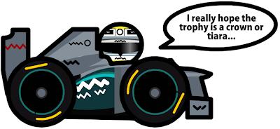 Нико Росберг побеждает за Mercedes - комикс Unlap по Гран-при Китая 2012