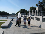 Here's a view of the relatively new WWII memorial
