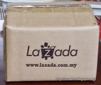The Lazada Box In Which The Camera And Other Items Were Packed In