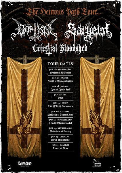 Sargeist / Baptism / Aosoth / Celestial Bloodshed @ Nouveau Casino, Paris 17/01/2009