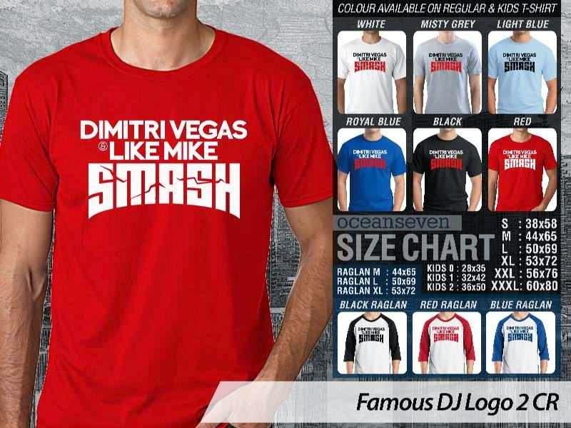 KAOS Musik DJ 13 Dimitri Vegas Like Mike Smash distro ocean seven