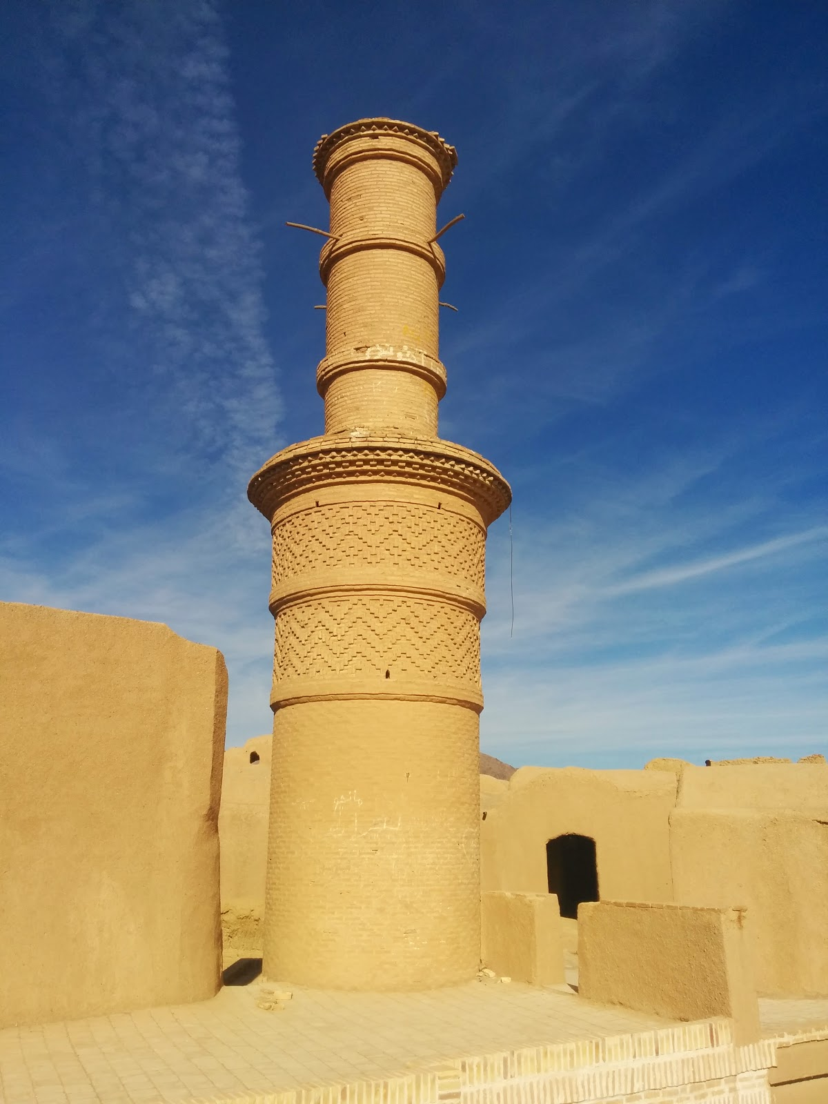 Shaking Minaret at Kharanaq