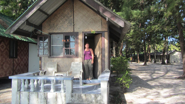 Our bungalow on Sunrise Beach, Koh Lipe.