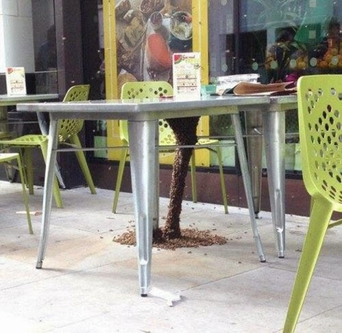Saved you a table