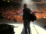 sometimes Scotty spreads his wings and flies onstage