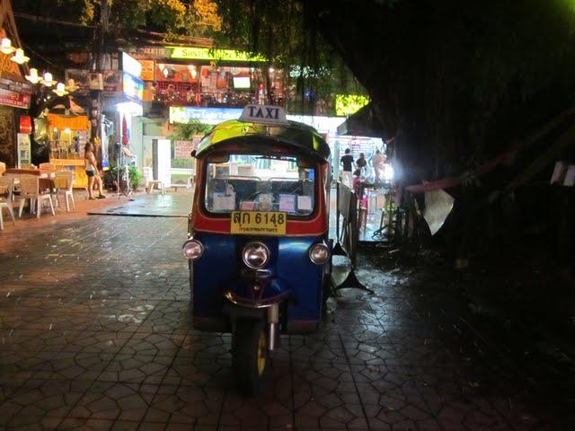 A tuk-tuk, Bangkok
