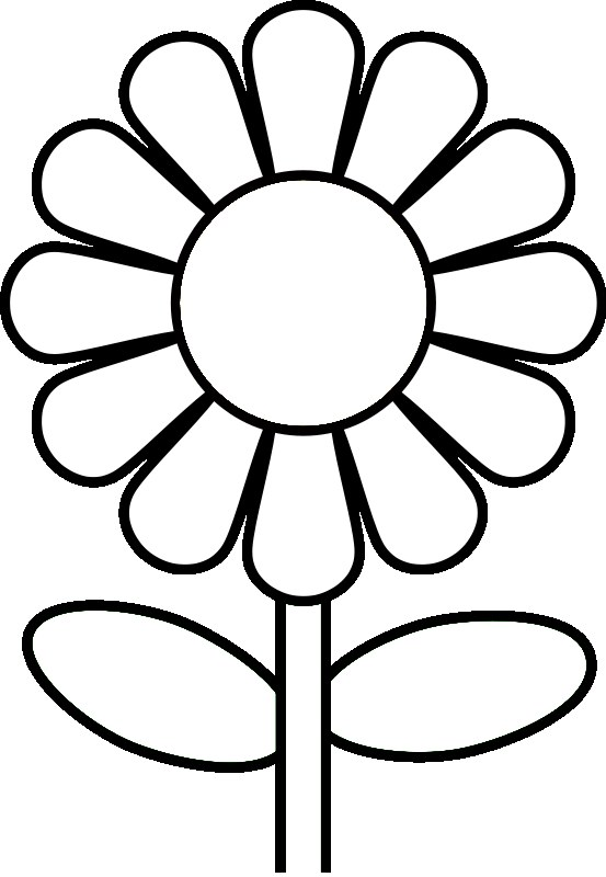 coloring pages of flowers printable - Free flower coloring pages from theKidzpage -- Printable