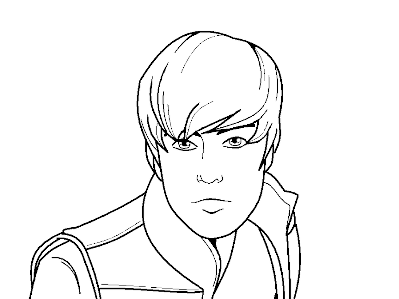 justin bieber coloring pages Coloring1