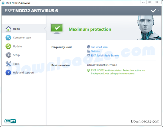 NOD32 Antivirus 10, ESET Smart Security 10 (32/64bit)