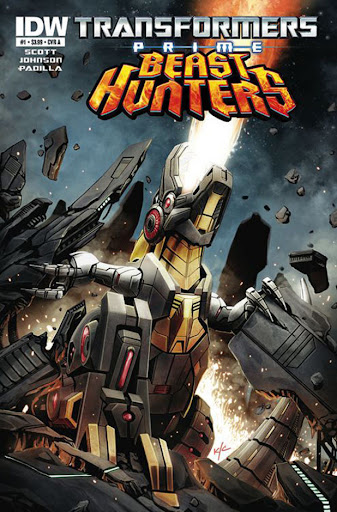 grimlock and the dinobots beast hunters comics coming may 2013 image 1  scaled 600 Baixar   Transformers Prime Beast Hunters 3ª Temporada   Episódio 03   RMVB Legendado