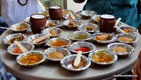 Indian street food with lassi http://indiafoodtour.com  http://foodtourindelhi.com