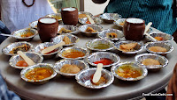 Indian street food with lassi http://indiafoodtour.com  http://foodtourindelhi.com