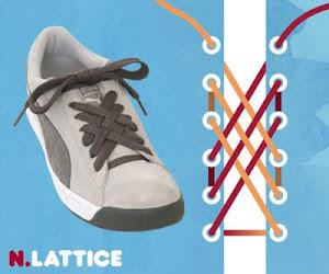 Memasang Tali Sepatu dengan Trik Lattice