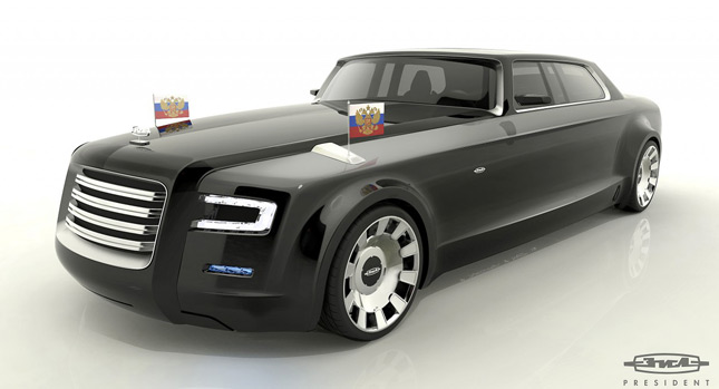 Putin Reportedly Unhappy with New Zil4112P Limo Marussia Tries