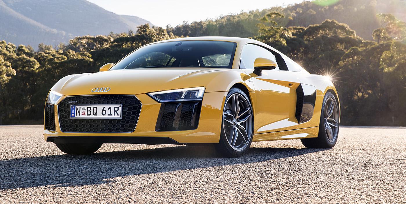 Audi R8 có nhiều nét tương đồng trong thiết kế giống Bugatti