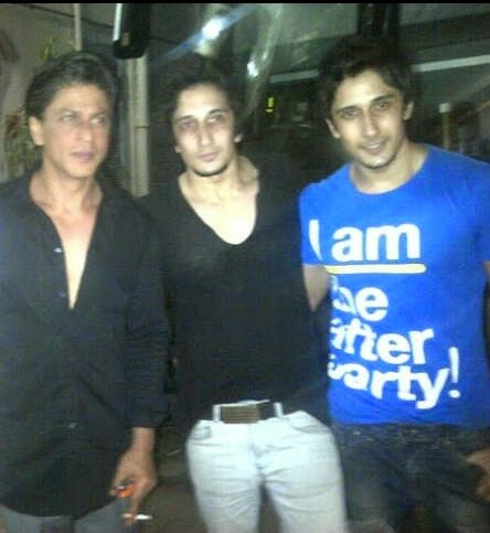 salman sait with shahrukh khan