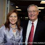 Jennifer J. Raab, President of Hunter College, and Walter Mondale, 42nd Vice President of the United States and former US Senator
