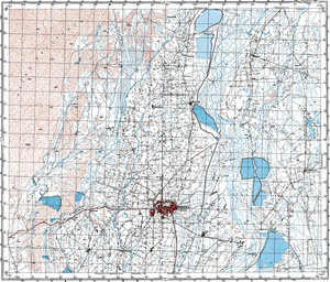 Map 100k--j43-059--(1973)