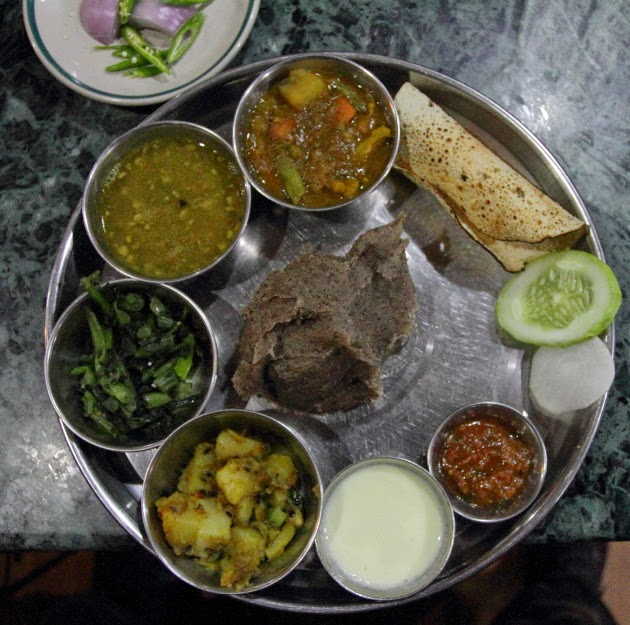 Traditional Nepali Thali Meal