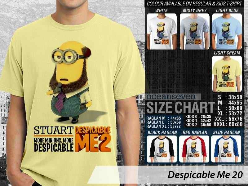 KAOS Despicable me 20 Movie Animation distro ocean seven