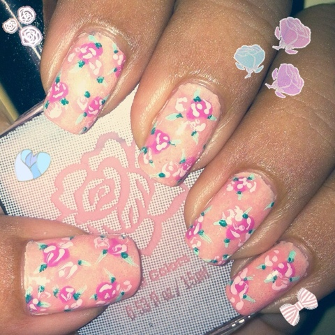 35 cute and easy nail