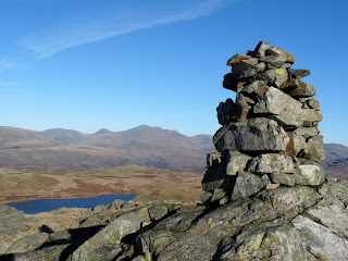 Devoke Water from White Pike Summit cairn