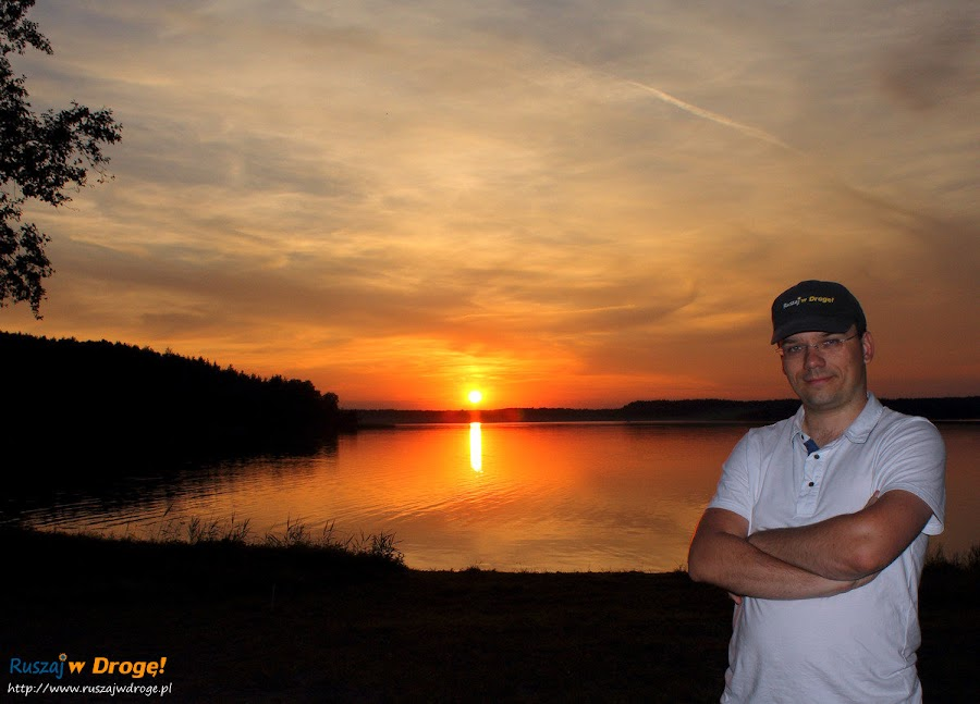 Zachód Słońca na Kaszubach - Maciej z Ruszaj w Drogę