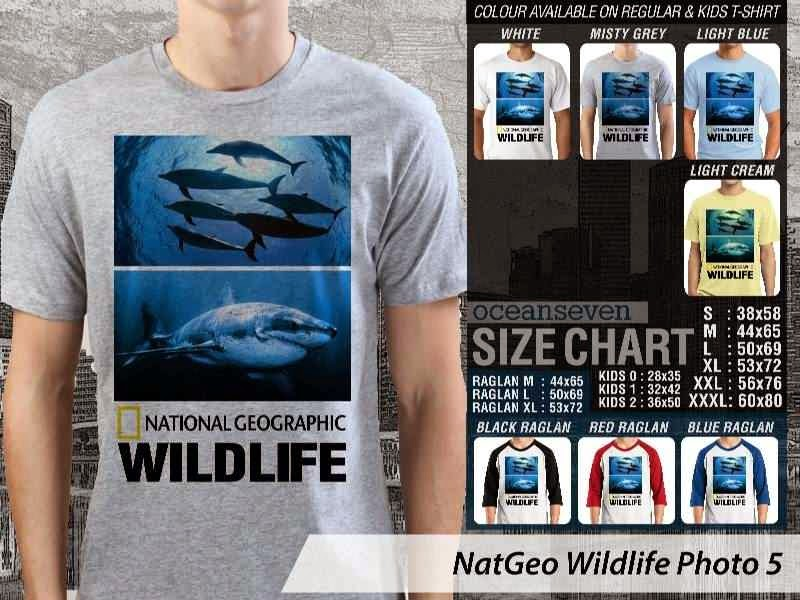 Kaos National Geographic NatGeo Wildlife Photo 5 distro ocean seven
