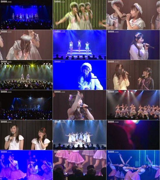 "(LIVE)(公演) NMB48 チーム研究生 ""想像の詩人"" 公演 150117 & 150208 & 150210"