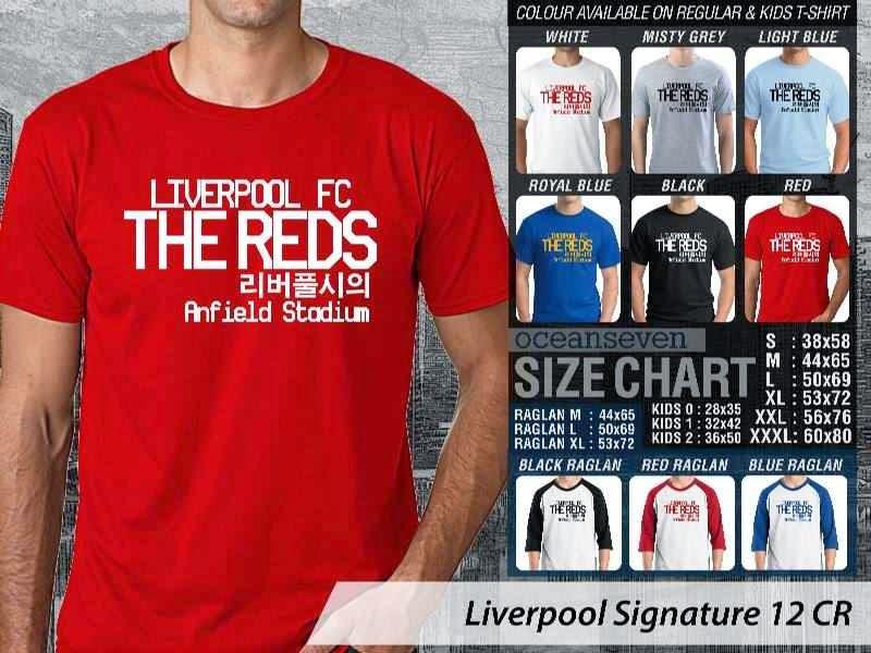 KAOS Liverpool 27 Liga Premier Inggris distro ocean seven