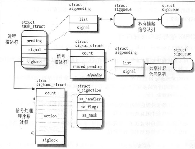 signal struct