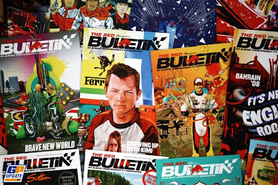 выставка журналов Red Bulletin на Гран-при Монако 2011
