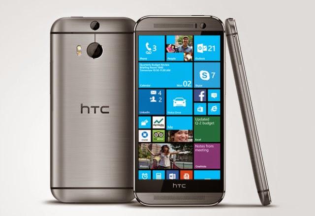 HTC One (M8) for Windows - Spesifikasi Lengkap dan Harga