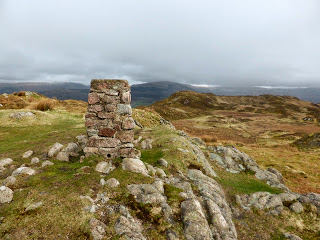 Hooker Crag - Muncaster Fell summit Trig Point