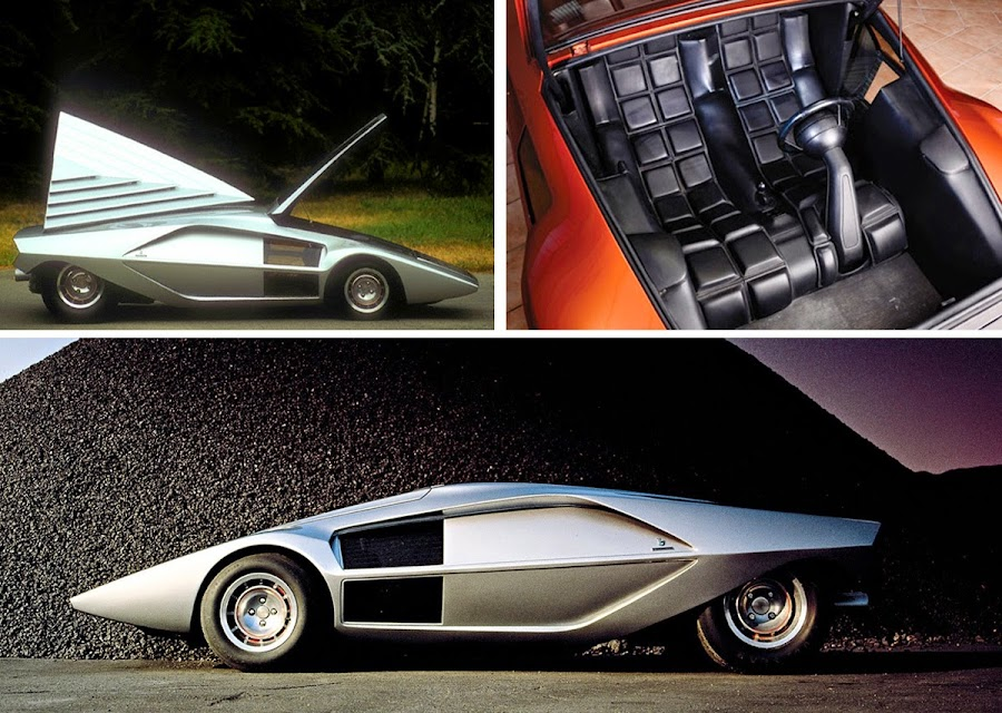 Dark Roasted Blend Futuristic Concept Cars Of The 1970 80s